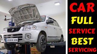MY CAR SERVICE | MARUTI SUZUKI ALTO FULL SERVICING | BEST SERVICING | Rahul Singh
