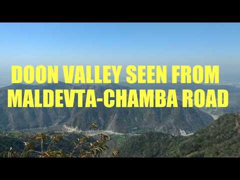 Amazing view of Doon Valley | Dehradun