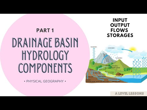 Drainage Basin Hydrology (Inputs, Flows, Storages, Output)   A Level Geography (2021)
