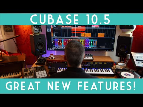 Cubase 10.5 New Features! Quick overview