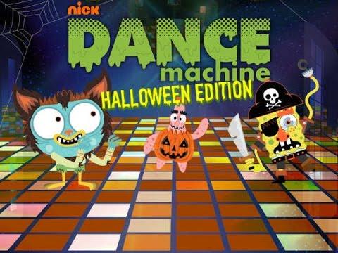 Nickelodeon Dance Machine Halloween Edition - Games For Kids - Free & Fun