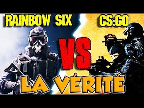 RAINBOW SIX vs CS GO : LA VÉRITÉ