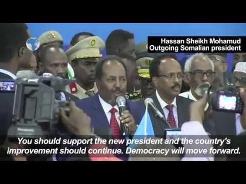 Farmajo vows to rebuild Somalia