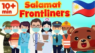 Salamat Frontliners | Flexy Bear Original Awiting Pambata Compilation
