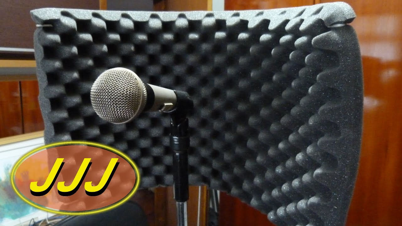 vocal booth reflection filter tosco diy youtube. Black Bedroom Furniture Sets. Home Design Ideas