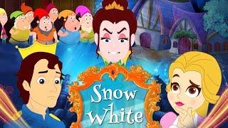 Snow White - Story In Hindi | Hindi Fairy Tales परियों की कहानी | Hindi Cartoon | बच्चों की कहानियाँ