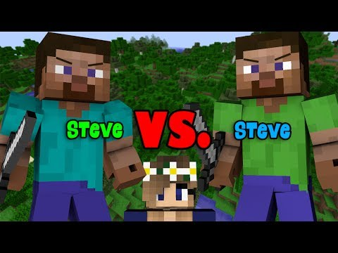 Steve VS Steve   INSANE DEADLIEST TRAP FIGHT - Minecraft