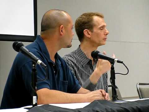 Brian Sipe and Doug Jones Panel at Crypticon