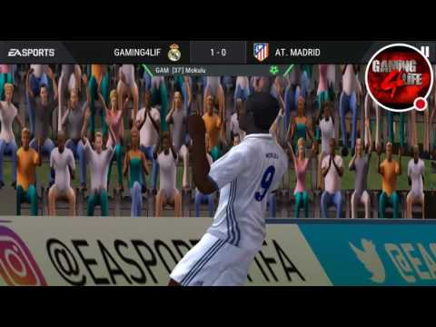 Real Madrid VS Atl.Madrid Highlights of Game in FIFA Mobile/Gaming 4LIFE