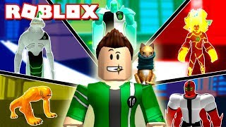WE BECOME IN BEN 10 IN ROBLOX