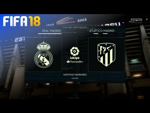 FIFA 18 Demo - Real Madrid vs. Atlético Madrid @ Estadio Santiago Bernabeu