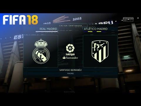 FIFA 18 Demo - Real Madrid vs. Atlético Madrid @ Estadio Santiago Bernabeu