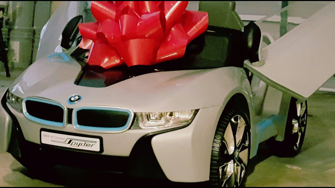 New Bmw I8 For 1 Year Old Baby Dda 3 Youtube