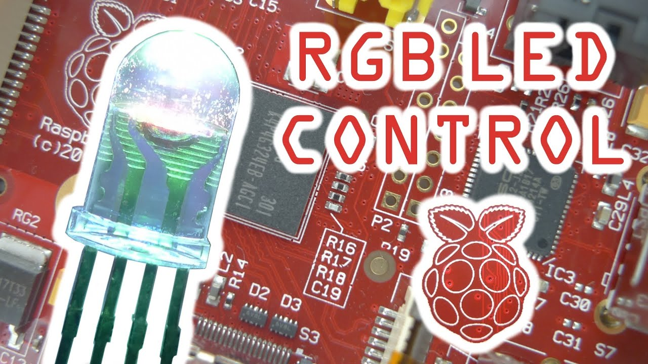 Controlling an RGB LED with the Raspberry Pi