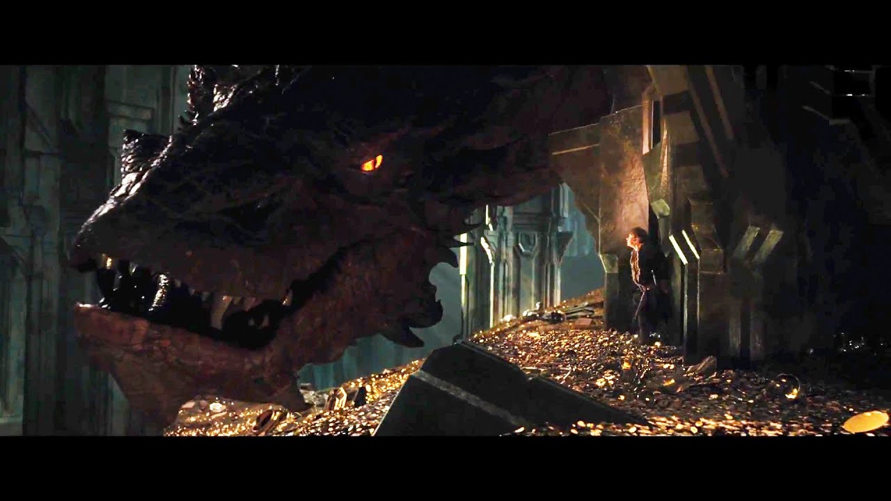 Animated Dragon Wallpaper The Hobbit The Desolation Of Smaug 2013 Official