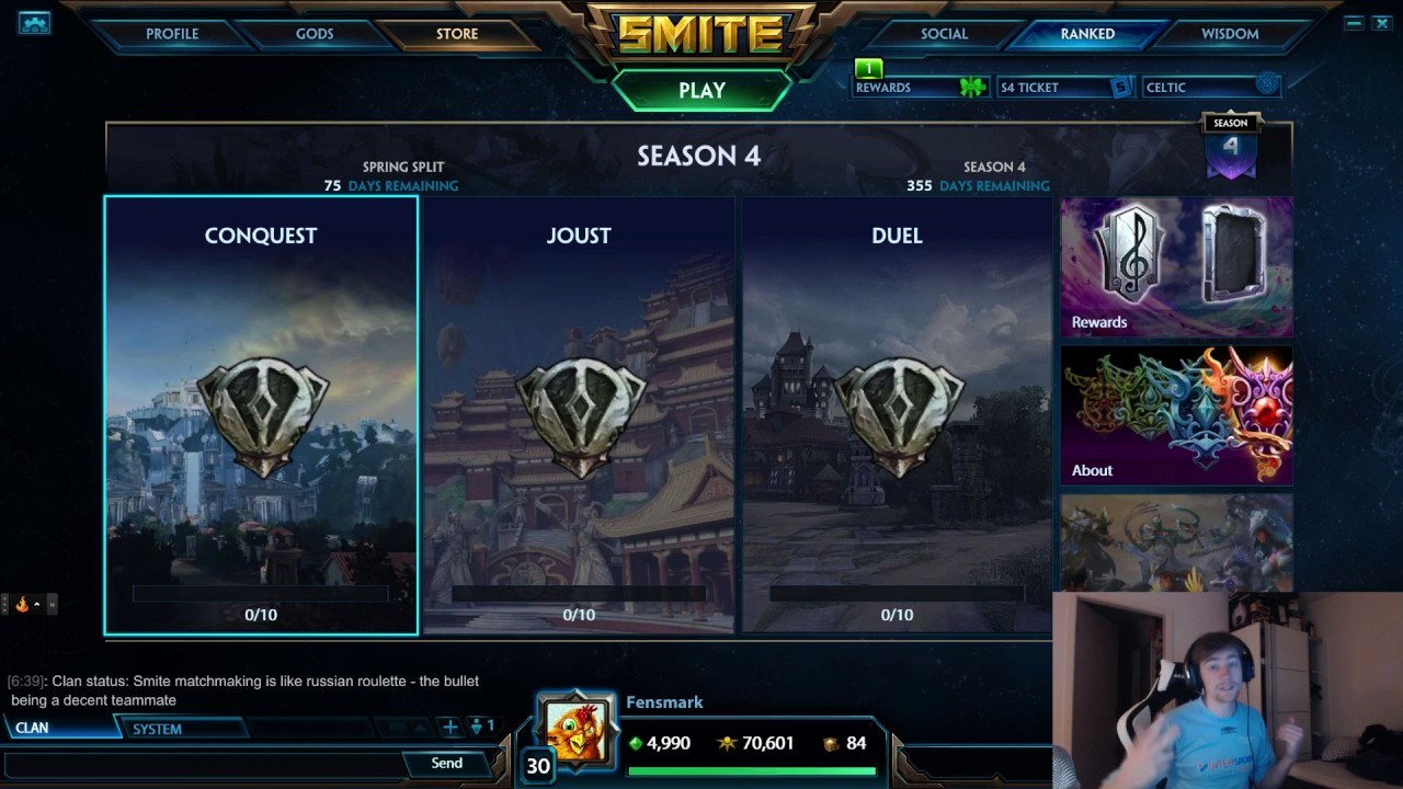 How Does Matchmaking Work In Smite