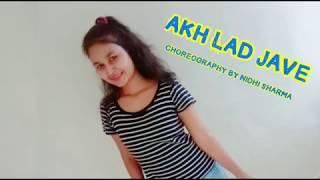 Akh Lad Jaave | LoveYatri | Dance | Choreography | Nidhi Sharma