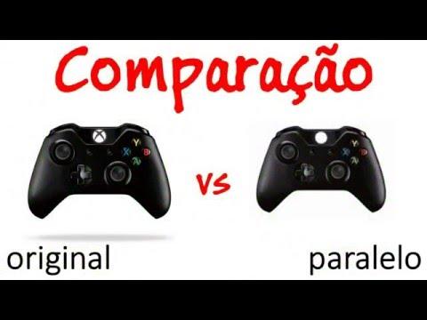 Comparação COMPLETA Controle Xbox One Original e Paralelo