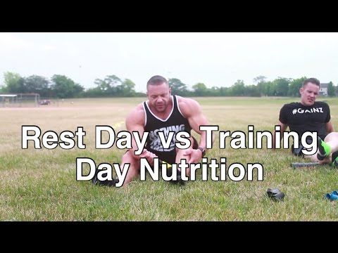 Rest Day vs Training Day Nutrition
