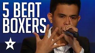 5 Amazing Beatboxers On Got Talent | Asia