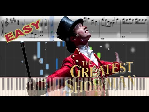The Greatest Showman - Rewrite the stars | Sheet Music & Synthesia Piano Tutorial thumbnail