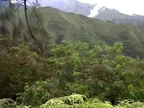 Mountains range between Lamongan and Batu - Malang, East Java, Indonesia