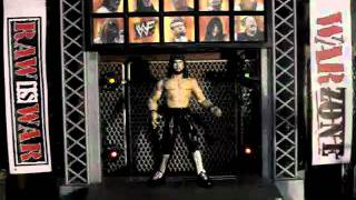 WWF TITANTRON LIVE PLAYSET REVIEW PLAYING X PAC ENTRANCE THEME