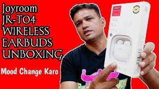 JoyRoom JR-T04 Wireless Earbuds Unboxing (Mood change ho gaya)