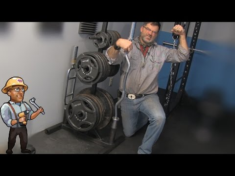 How to Build a Gym Weight Tree – DIY Dudes