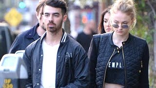 Joe Jonas And Sophie Turner Go Public For The New Year