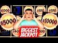 BIGGEST JACKPOT Ever On YouTube History For New DRAGON CASH Slot Machine ! MEGA JACKPOT WINNER