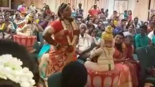 best kuthu dance by bride girl to an tamil song