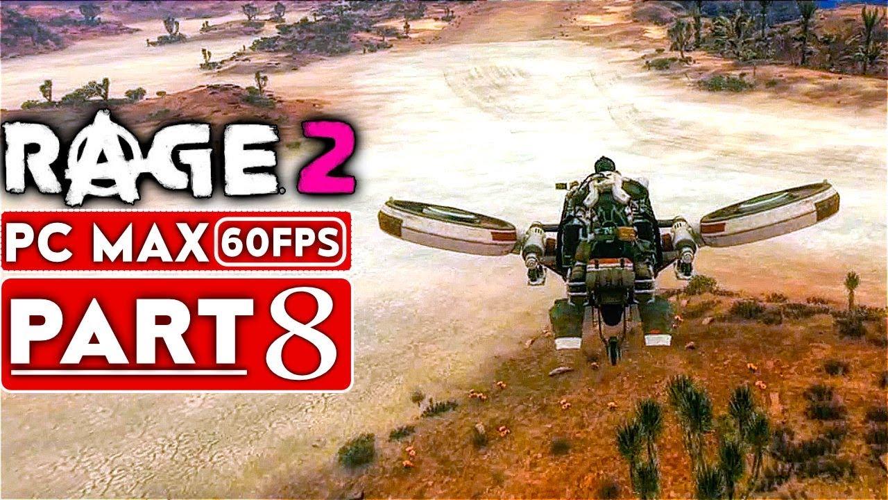 RAGE 2 Gameplay Komplettlösung Teil 8 [1080p HD 60FPS PC MAX EINSTELLUNGEN] - Kein Kommentar + video