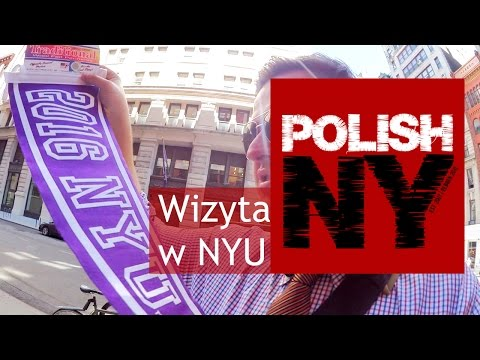 Zycie w Nowym Jorku: New York University (Polish-NY VLOG #33)