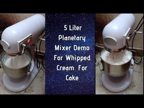 Cake Mixer Price In Delhi | India & 5L Cake Mixer Demo