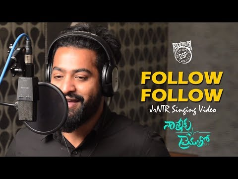Follow Follow Song Making |  Nannaku...