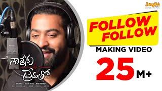 follow follow song making nannaku prematho jrntr dsp rakul preet