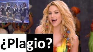 Plagio Shakira VS Las chicas del can Waka waka 2010 El negro no puede 1988