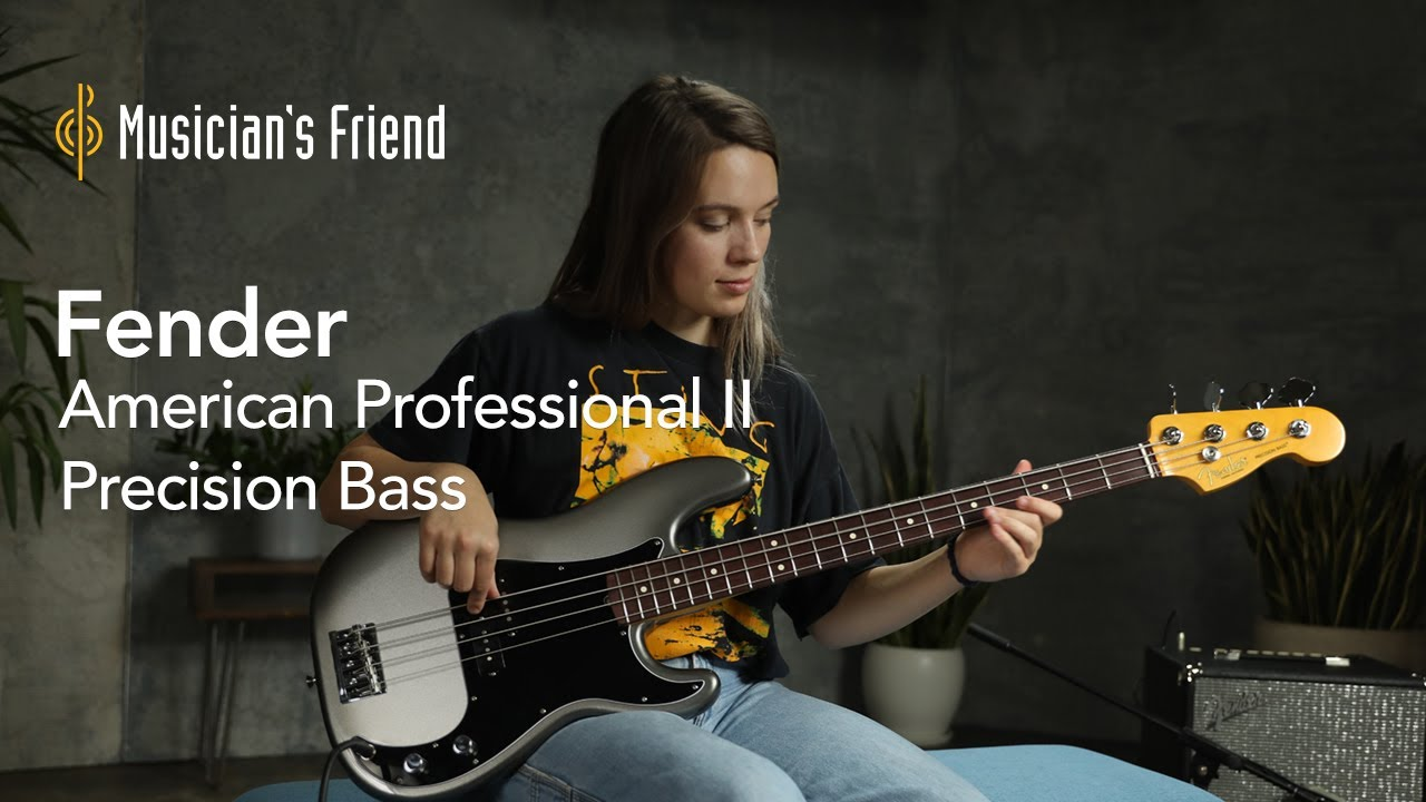 Fender American Professional II Precision Bass Demo - All Playing, No Talking