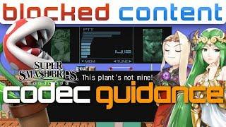 PALUTENA & SNAKE vs PIRANHA PLANT CODEC Guidance (Super Smash Bros. Ultimate)