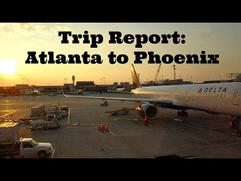 Trip Report: Flying Delta from Atlanta to Phoenix