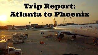 Trip Report: Flying Delta from Atlanta to Phoenix
