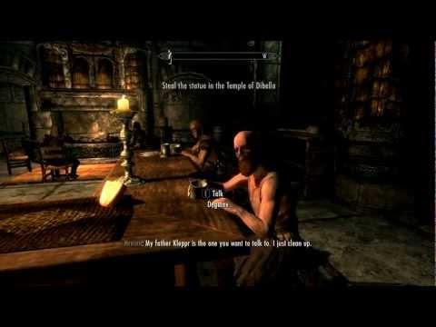 Skyrim - Stealing The Dibella Statue