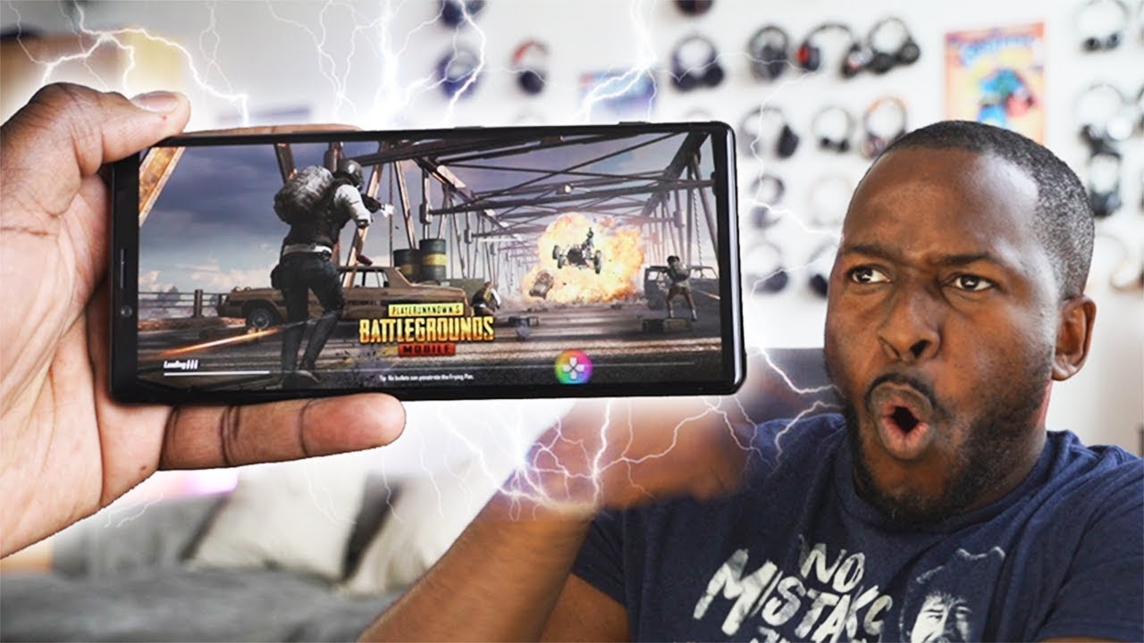 Sony Xperia 1 GAMING in 4K HDR 21:9!!!