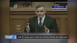 """Saab: """"Es tiempo que se realice una reforma profunda del código penal"""""""