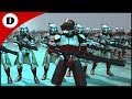 COMMANDER FOX'S ORDER 66 ATTACK! - Men of War: Star Wars Mod