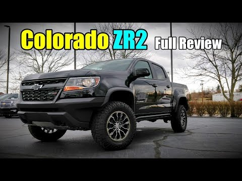 2018 Chevrolet Colorado ZR2: FULL REVIEW