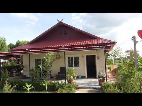 Building a villa and pool in Thailand for Under 1 million baht.