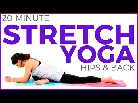 Deep Stretch Yoga for Athletes | Yoga for Flexibility & Hips (20 minutes) Sarah Beth Yoga