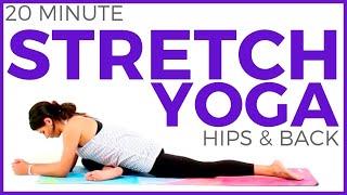 Deep Stretch Yoga for Athletes (20 minutes) Yoga for Flexibility & Hips   Sarah Beth Yoga